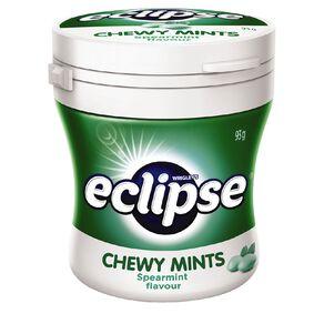 Eclipse Chewy Mints Spearmint Bottle 93g
