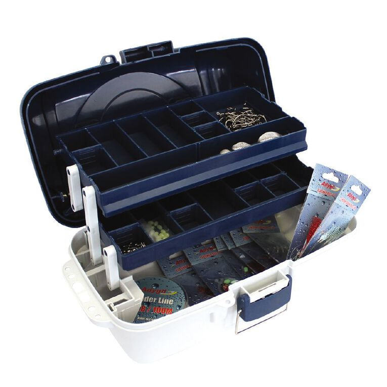 Maxistrike Two Tray Tackle Kit 104 Piece, , hi-res