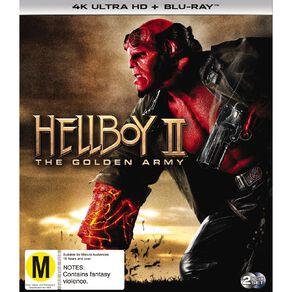 Hellboy Ii The Golden Army 4K Blu-ray 2Disc