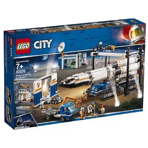 LEGO City Rocket Assembly and Transport 60229