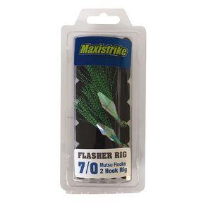 Maxistrike Flasher Rig - Mutsu Hooks 7/0