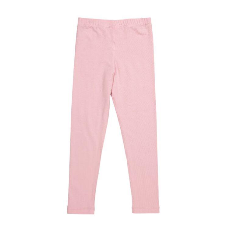 Young Original Girls' Coloured Leggings, Pink Light, hi-res
