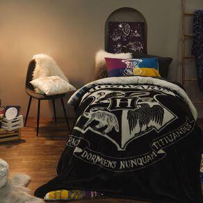 Harry Potter Blanket Mink Grey One Size