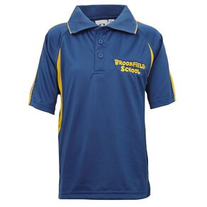 Schooltex Broomfield Sport Top with Embroidery