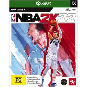 Xbox Series X NBA 2K22