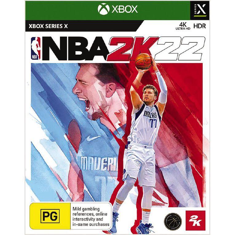 Xbox Series X NBA 2K22, , hi-res