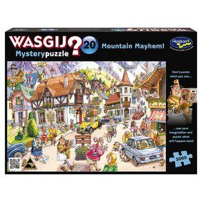 WASGIJ Mystery 20 Mountain Mayhem 1000 Piece Puzzle