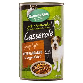 Nature's Gift Gift Meal Time Casserole Roo & Barley 1.2kg