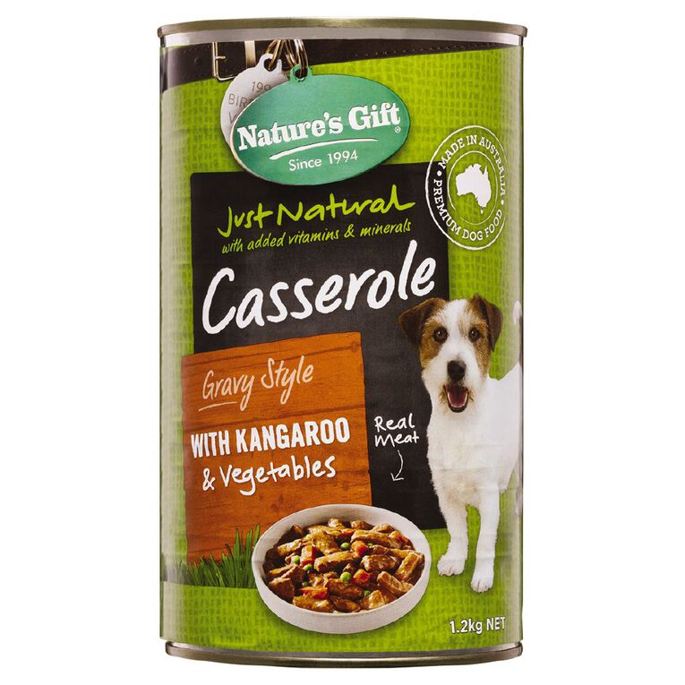 Nature's Gift Gift Meal Time Casserole Roo & Barley 1.2kg, , hi-res