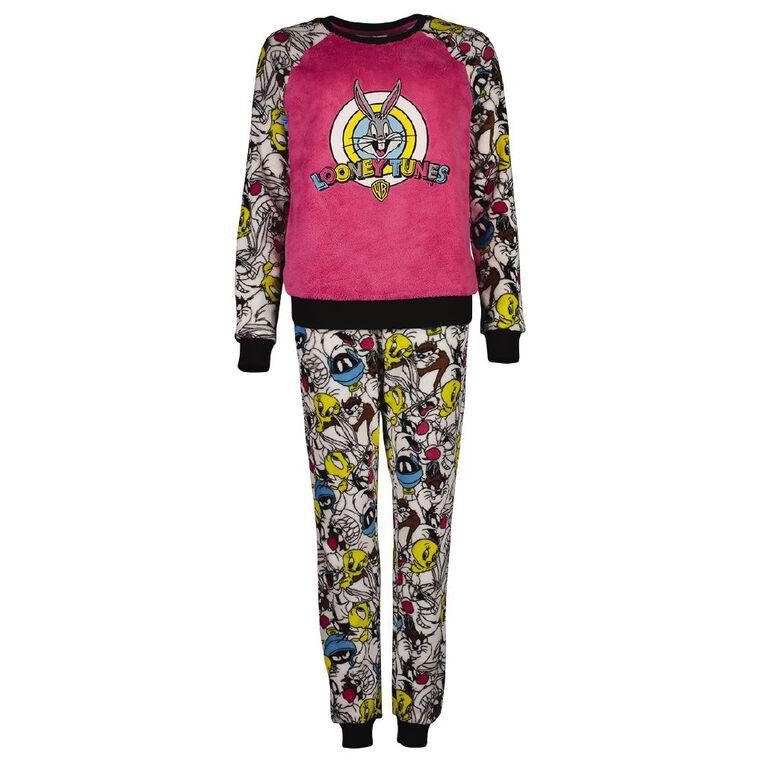 Looney Tunes Women's Pyjama Set, White, hi-res