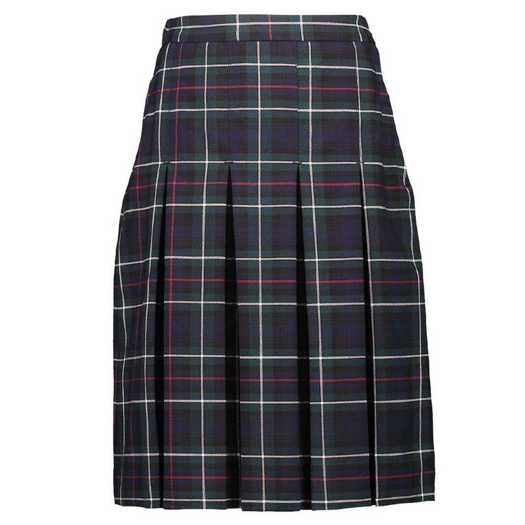 Schooltex Box Pleat Skirt, Schooltex Tartan TRT011, hi-res