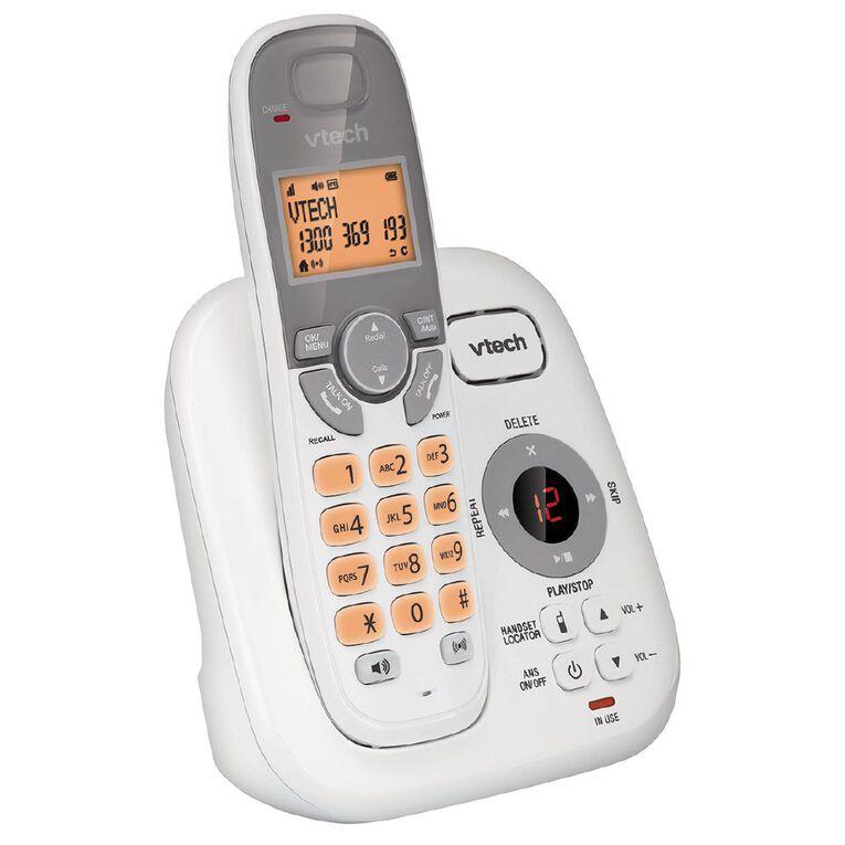 Vtech FS6424A Cordless Phone Answer Machine White, , hi-res