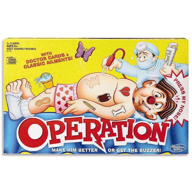 Operation Board Game, , hi-res