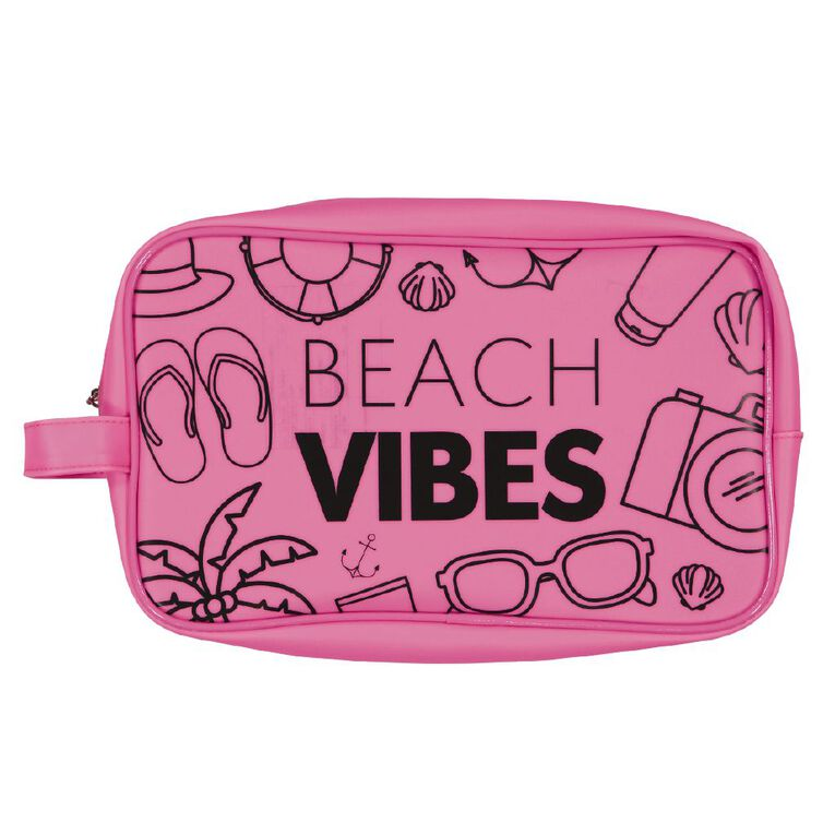 New Wave Beach Cosmetic Bag, , hi-res