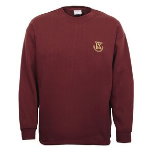 Schooltex Kowhai Intermediate Sweatshirt with Embroidery