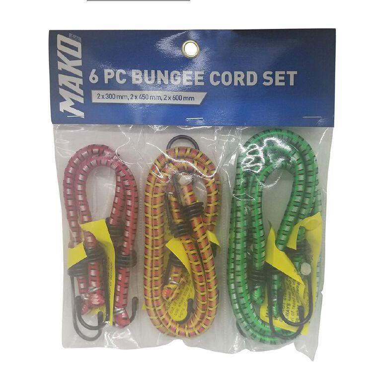 Mako Bungee Cord Set 6 Pack, , hi-res