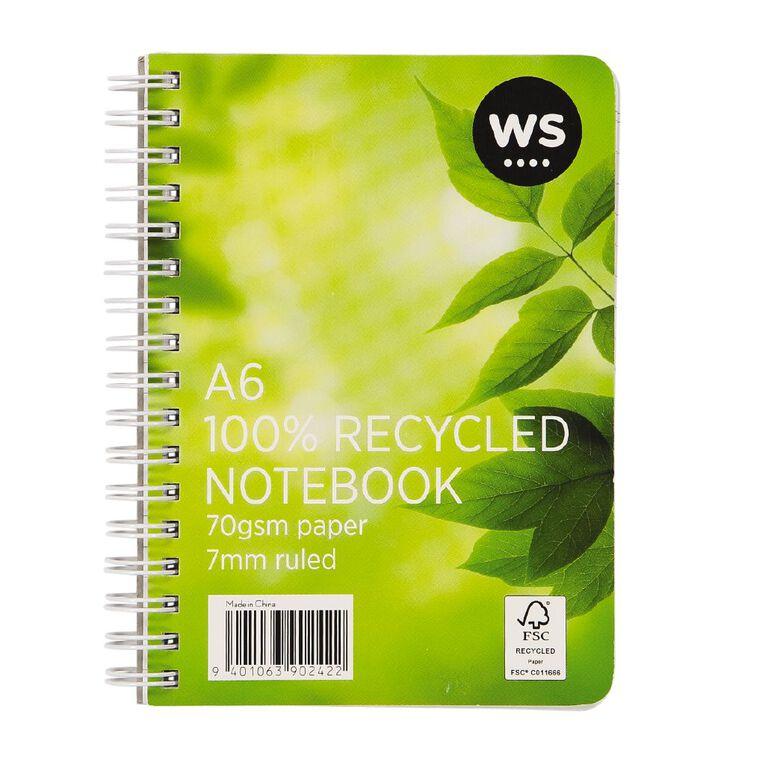WS Spiral Notebook A6, , hi-res