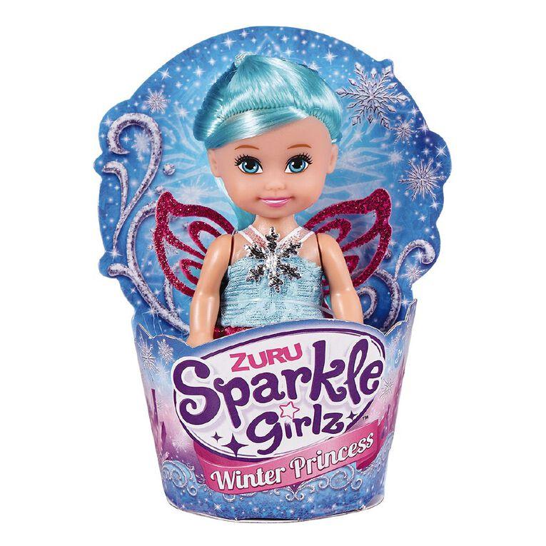 Zuru Sparkle Girlz Winter Princess Cupcake Doll 4.5 Inch Assorted, , hi-res