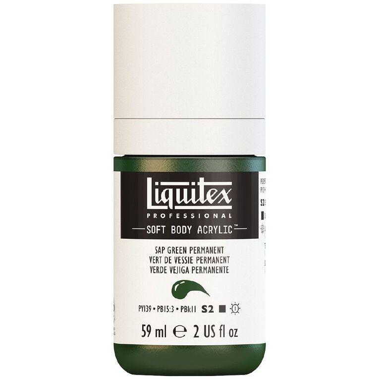 Liquitex Soft Body Acrylic 59ml Sap Green S2, , hi-res