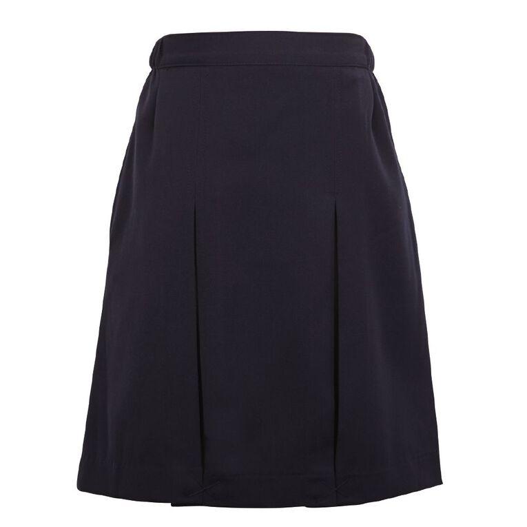 Schooltex Inverted Pleat Skirt, Navy old, hi-res