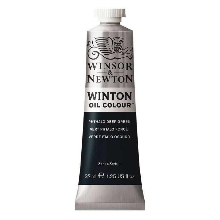 Winsor & Newton Winton Oil Phthalo Deep Green 37ml, , hi-res