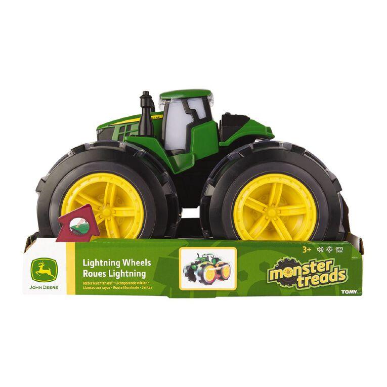 John Deere Monster Treads Lightning Wheels Tractor, , hi-res