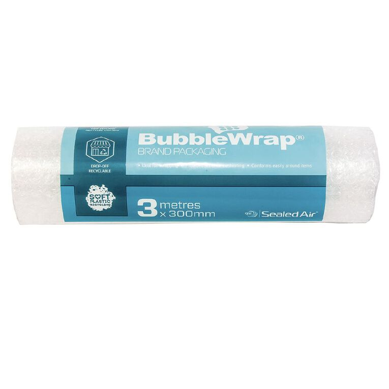 Sealed Air Recycled Bubble Wrap Roll 300Mm X 3M, , hi-res
