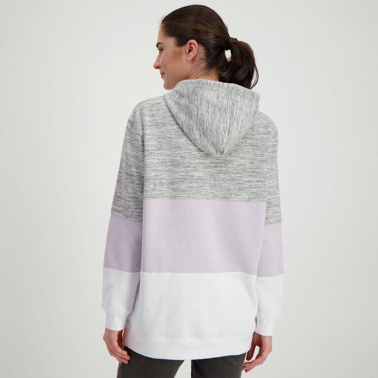 H&H Women's Block Hoodie, Grey Light, hi-res