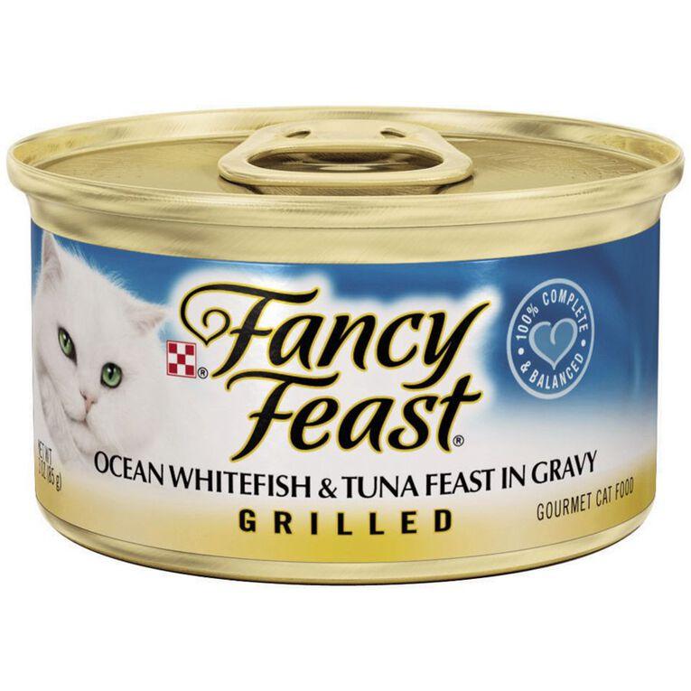 Fancy Feast Fancy Feast Ocean Whitefish & Tuna 85g, , hi-res
