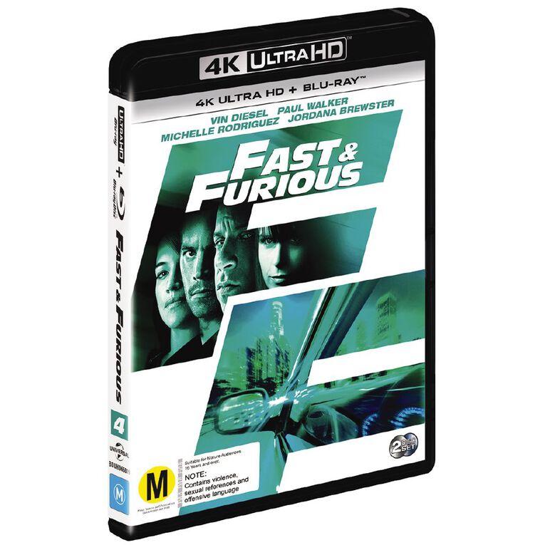 Fast & The Furious 4 4K Blu-ray 2Disc, , hi-res