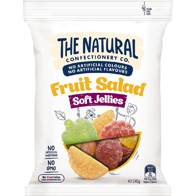 The Natural Confectionery Co. Fruit Salad 240g, , hi-res