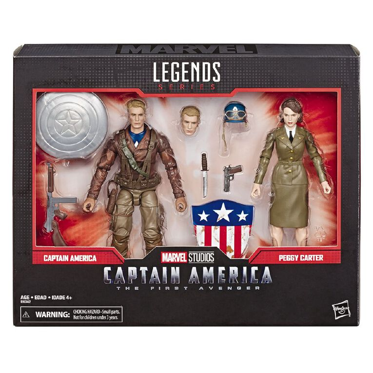 Marvel Legends 80th Anniversary Captain America Peggy Carter, , hi-res