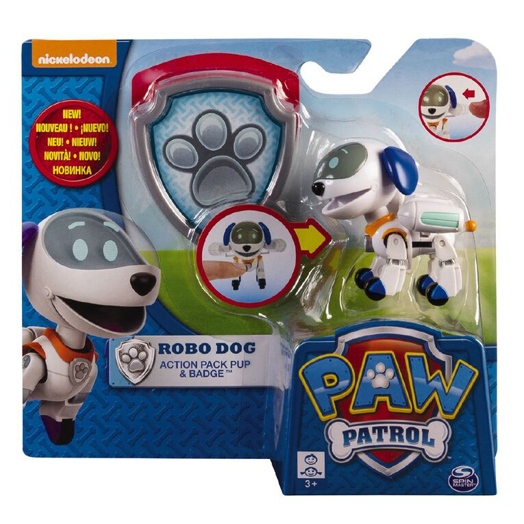 Paw Patrol Action Pack Pup Assorted, , hi-res