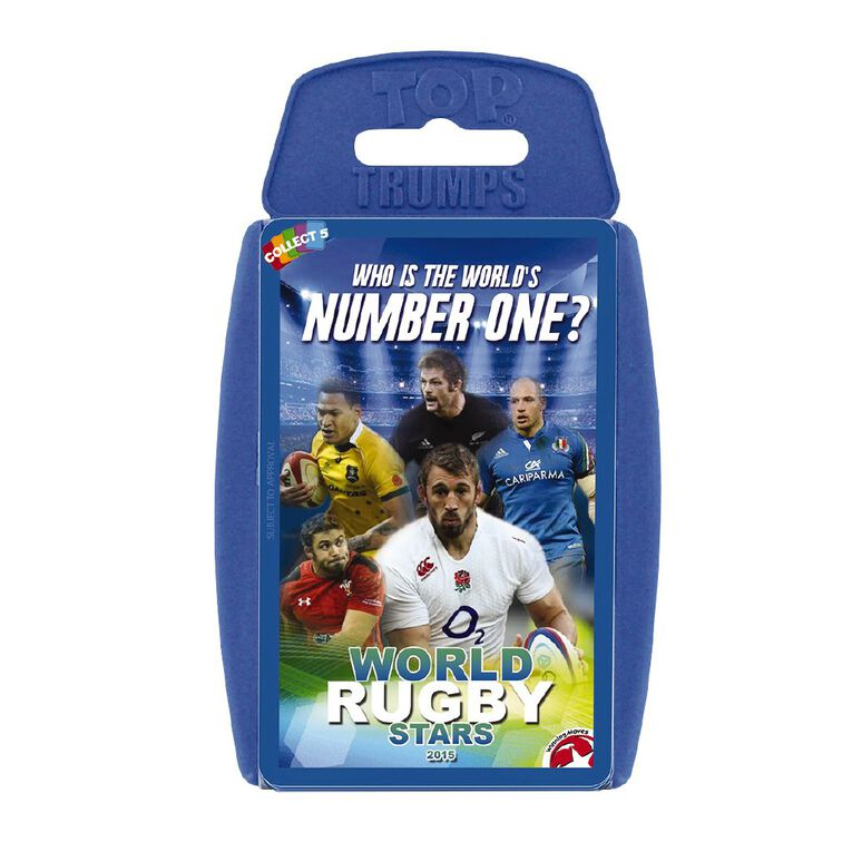 World Rugby Stars Top Trumps, , hi-res