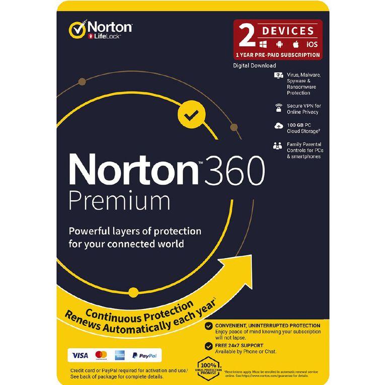 Norton 360 Premium 2 Device 12 Months, , hi-res