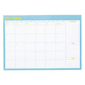 Uniti Back To School Homework Planner Blue Light