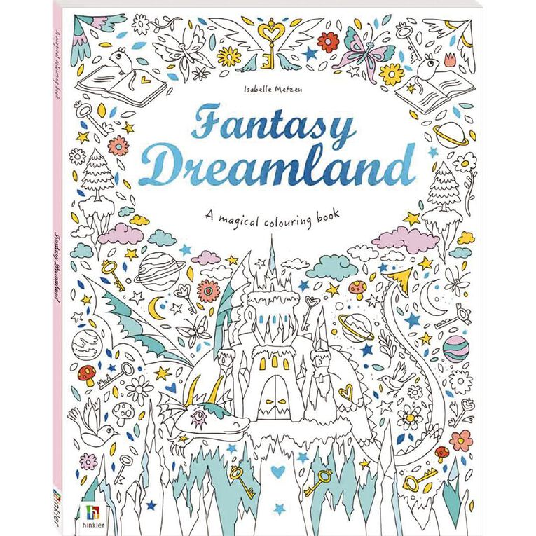 Magical Colouring Book: Fantasy Dreamland, , hi-res image number null