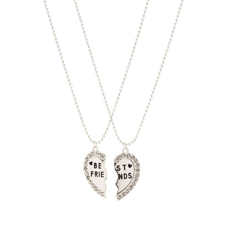 Friends Necklace, Silver, hi-res image number null