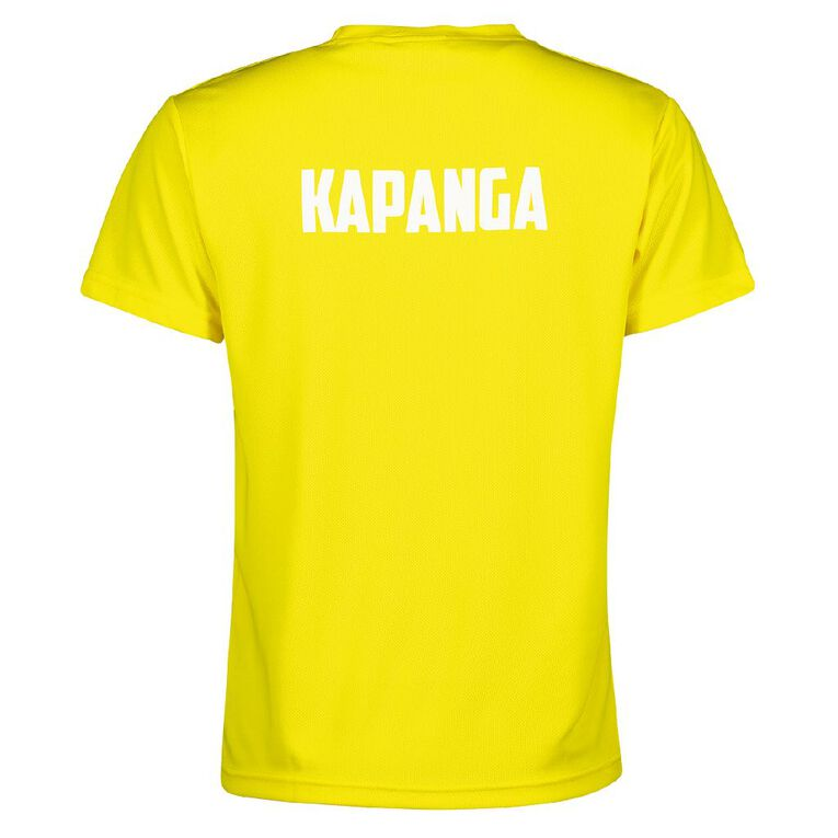 Schooltex Coromandel Area School Kapanga House Tee with Transfer, Yellow, hi-res