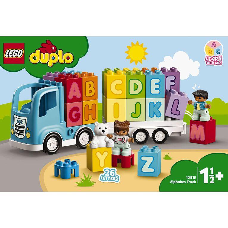 LEGO DUPLO Alphabet Truck 10915, , hi-res
