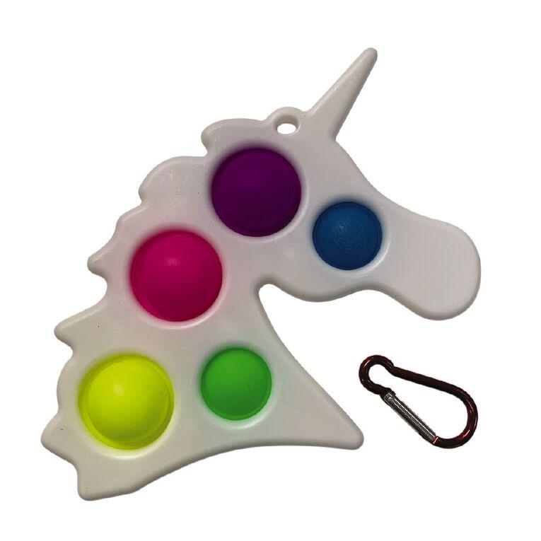 Fidget Pop-It Unicorn Poppa, , hi-res
