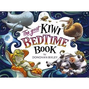 The Great Kiwi Bedtime Book by Donovan Bixley