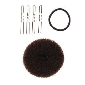 Colour Co. Hair Donut Bun Ring Dark 8.5cm