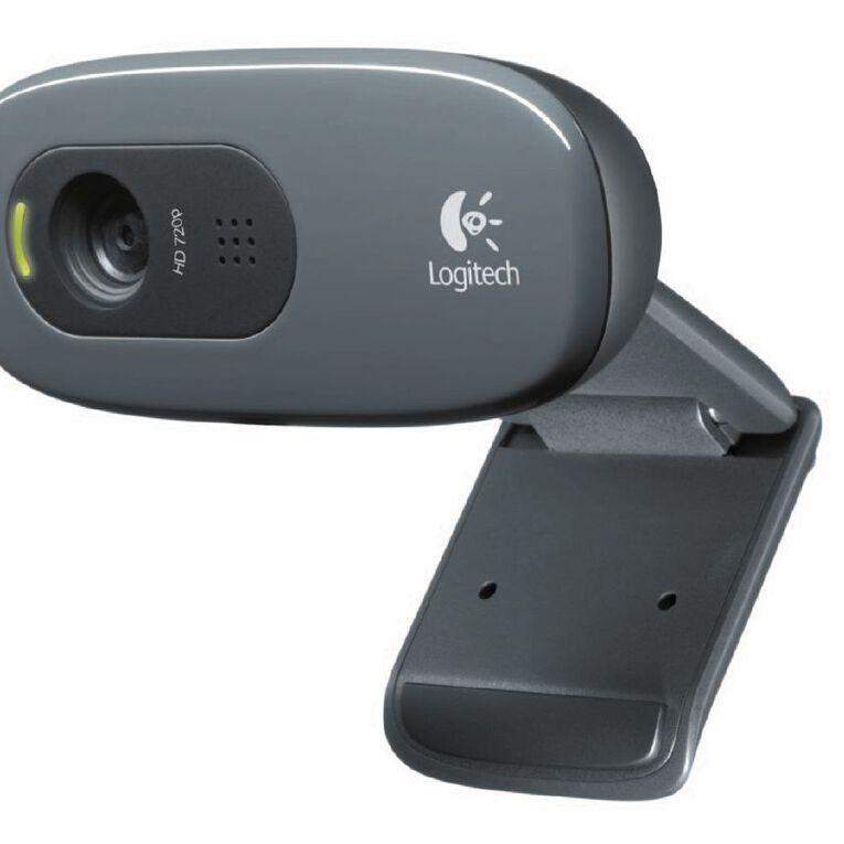 Logitech C270 HD Webcam Grey, , hi-res