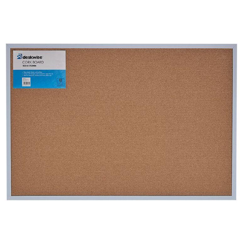 WS Cork Board 500mm x 750mm, , hi-res