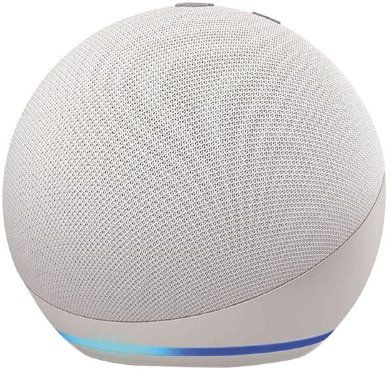 Amazon Echo Dot (4th Gen) Glacier white, , hi-res