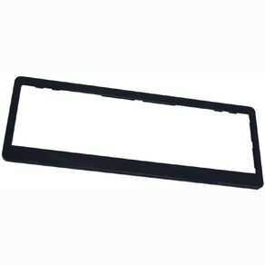 Wildcat Black Number Plate Frame Pair