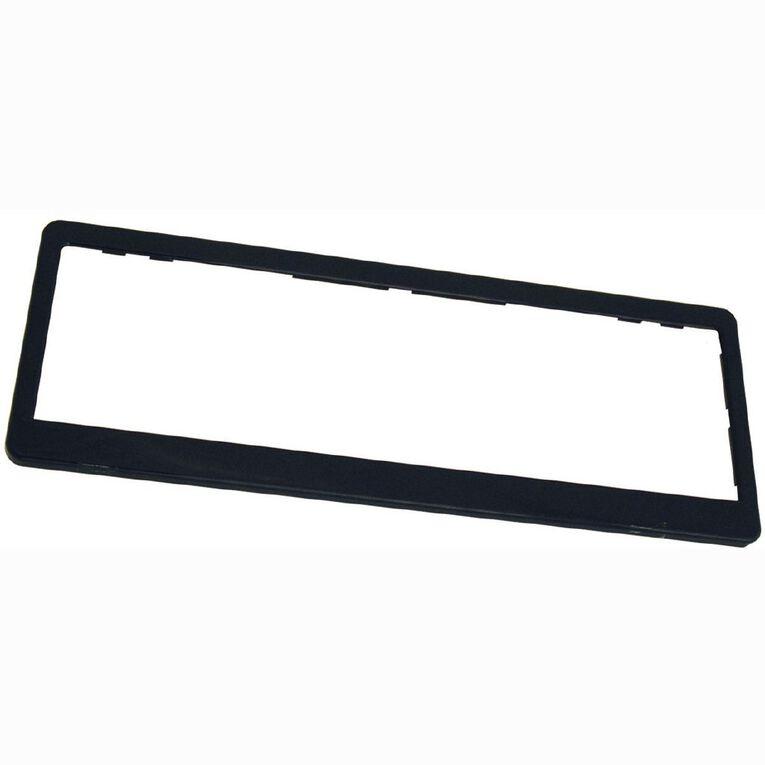 Wildcat Black Number Plate Frame Pair, , hi-res