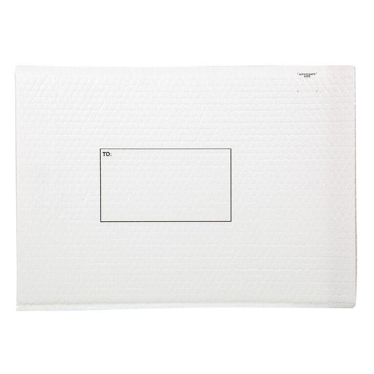 Mail Bag Lite Size 7 380 x 480mm White, , hi-res
