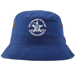 Schooltex Our Lady Star of the Sea Bucket Hat with Embroidery